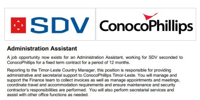 SDV-Administration-Assistant
