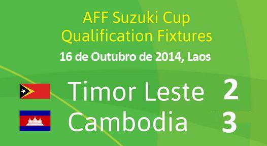 TL (2) -vs- (3) Cambodia