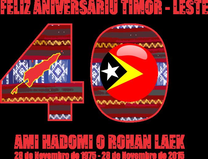 Loron Proklamasaun Independensia Timor - Leste Ba Dala 40